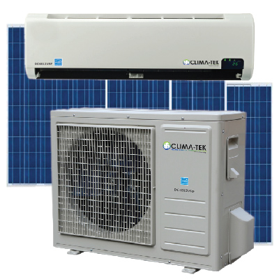 12000Btu Climatek Solar Air Conditioner - will NOT feed back to grid - Not  Installed No Solar Panels